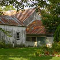 Barn in Dappled Light-1365