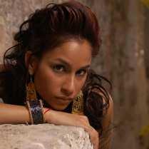 Christina + rock